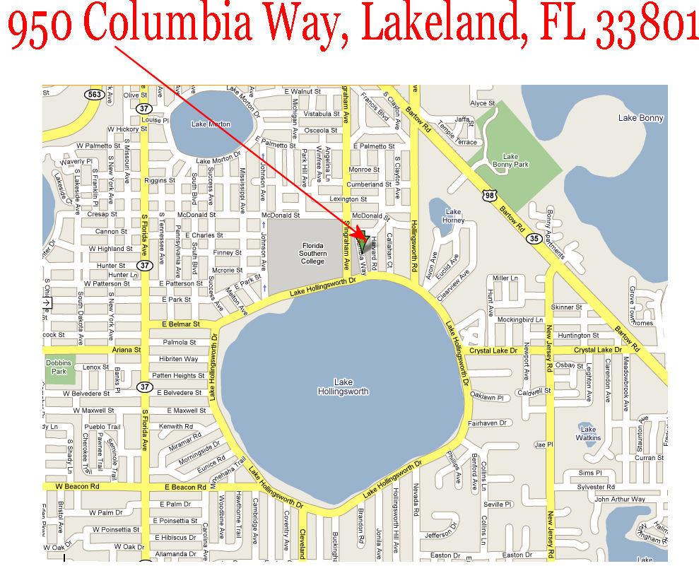 Lakeland Florida Map Format Of The Resume